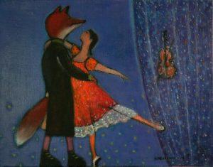 Kettu ja tanssija